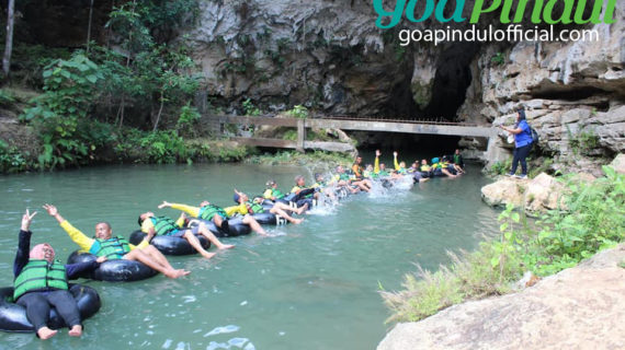 Tempat Wisata Goa Pindul di Jogja