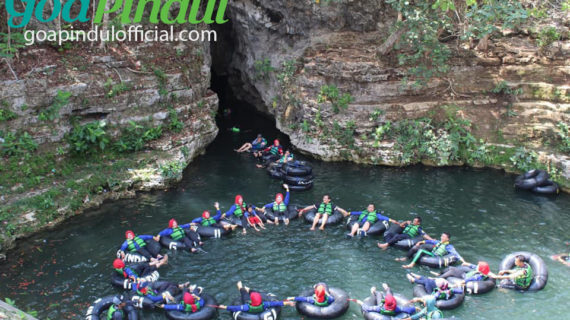 Tiket Masuk Cave Tubing Goa Pindul